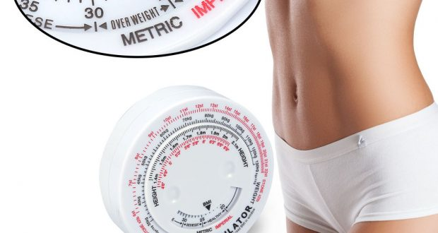 Body Mass Measuring Tape Fitness Tester Weight Loss Muscle BMI Calculator Chart