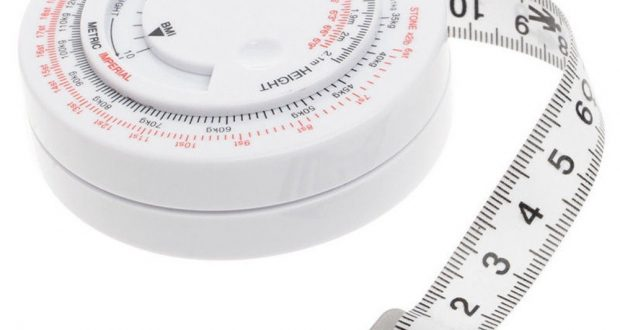 Calculator Weight Loss Tool Measure Tools BMI Body Mass Index Retractable Tape