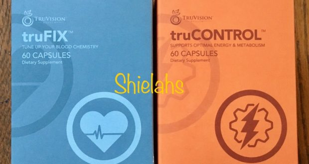 30 DAY TruVision  truCONTROL Fix COMBO 1 MONTH 4 Week DIET WEIGHT Loss Energy