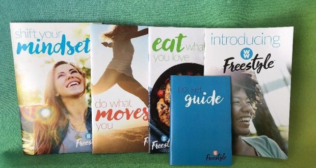 Weight Watchers 2018 FREESTYLE Diet WELCOME KIT 4 Guides + Pocket Food Guide