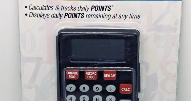 Weight Watchers Electronic Points Finder Calculator Weight Loss Diet