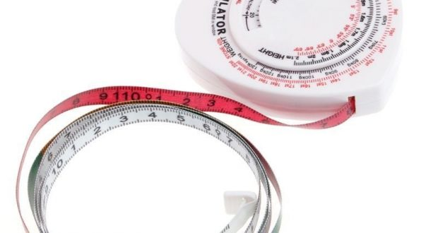 BMI Heart Body Mass Index Tape Measure Calculator Body Muscle Diet Weight Loss