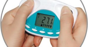 Handy Digital Weight Loss Calculator Body Fat Tester Health Monitor BMI Meter
