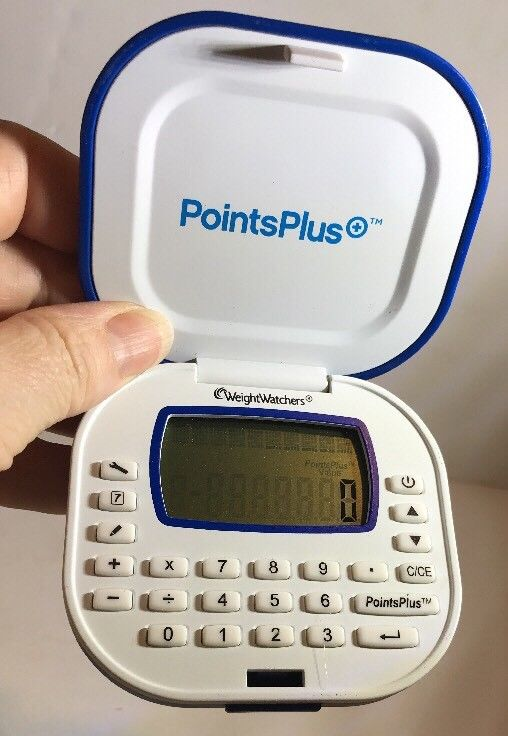 Weight Watchers Points Plus Calculator Diet Weight Loss Blue Uses Battery Works