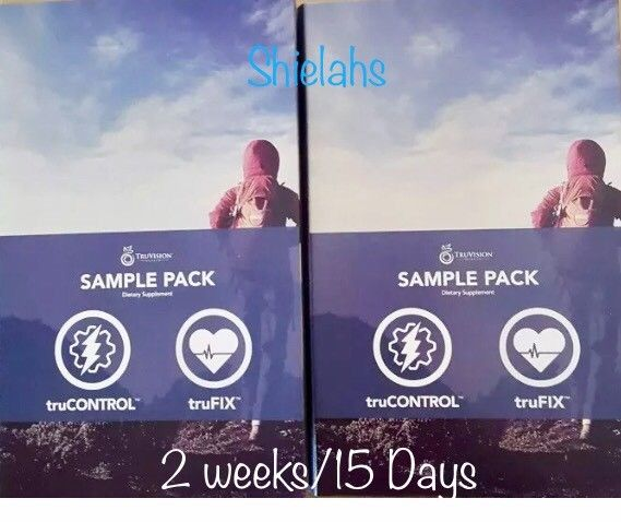 2 WEEKS Truvision DIET 15 days 60 CAPSULES truFIX & truCONTROL Weight Loss NEW