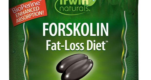 Forskolin Fat-Loss Diet, Irwin Naturals, 60 gelcap