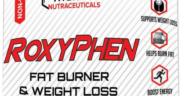 RoxyPhen Best Thermogenic Fat Burner & Weight Loss Supplement, Diet Pills-Energy