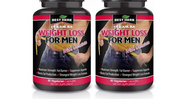 WEIGHT LOSS FOR MEN FAT BURNER DETOX SLIMMING DIET SUPPLEMENT PILLS 120 CAPSULES