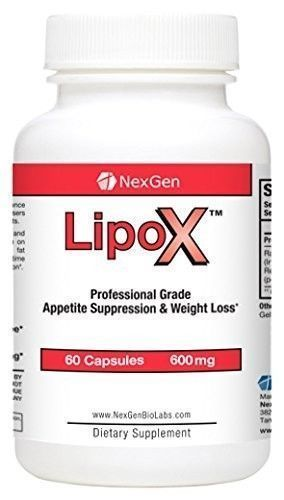 LipoX Diet Pills with Fat Burners and Appetite Suppressants for Weight Loss