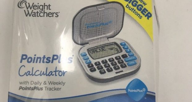 NIB Weight Watchers Points Plus Calculator Bigger Buttons Diet Weight Loss