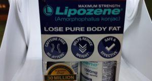 NEW 2 sealed bottles Lipozene Maximum Strength Fat weight Loss Supplement 11/20+