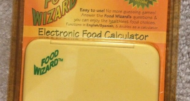 NEW Food Wizard Electronic Food Calculator Calorie Counter Diet Weight Loss Aid
