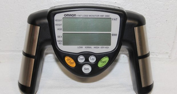 Omron HBF-306C Fat Loss Analyzer Monitor Body Logic BMI Quick Results! WORKS!!