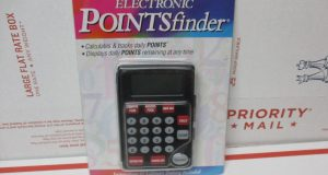 Weight Watchers Electronic Points Finder Calculator Weight Loss Diet New