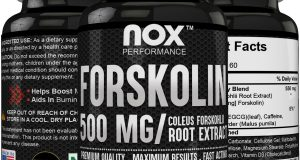 Forskolin 500mg Weight Loss Supplement for Men and Women High potency fat burner
