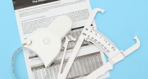 Body Fat Caliper Measuring Tape Tester Fitness Weight Loss Calculator Analyzer
