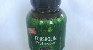 Irwin Naturals Forskolin Fat-Loss Diet Supplement 60 soft-gels EXP 4/18 F/S A8