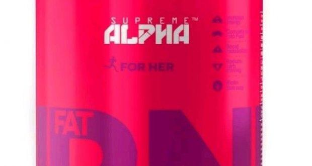 SUPREME ALPHA: Fat Burner for Women Natural Fat Loss Supplement, New