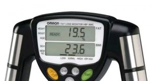 Digital Fat Loss Monitor  Body Fat Mass Weight Analyzer by Omron