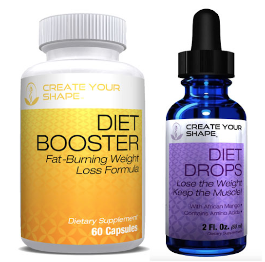 HCG Free Diet Drops Supplement Fat Burner Lean Weight Loss 1234 Health