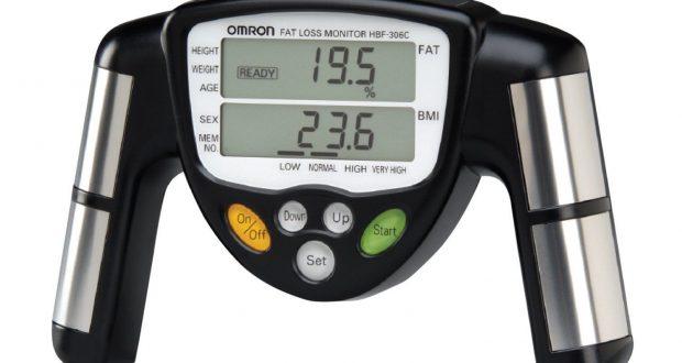 Omron HBF-306C Handheld Body Fat Loss Monitor Analyzer – Brand New!