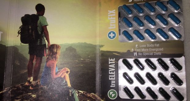 1 Week Truvision 7.5 day 30 CAPSULES truFIX  truELEVATE Weight Loss EXTREME DIET