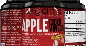 Organic Apple Cider Vinegar Capsules Weight Loss – Fast Acting!