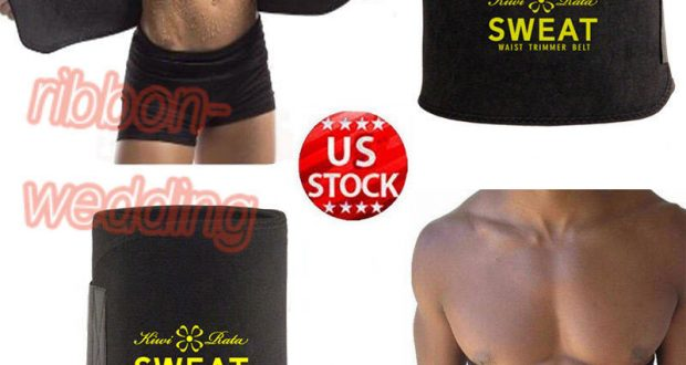 Waist Trimmer Exercise Wrap Belt Burn Fat Sweat Weight Loss Sport Body Shaper Zz