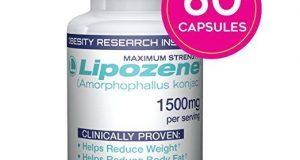 Lipozene Green Diet Pills All Natural Weight Fat Appetite Loss Supplement 60 ct