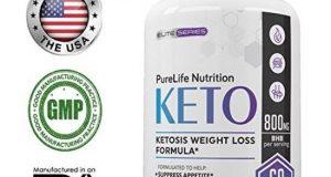 Purelife Keto Weight Loss Supplement Fat Burner Pills Extra Strength Appetite