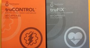 TRUVISION Health WEIGHT LOSS-TRUCONTROL TRUFIX – 30 Day Supply