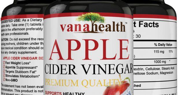 Apple Cider Vinegar Pills Natural Weight Loss, Detox, Digestion