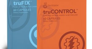 Truvision truCONTROL + truFIX 30 Day Supply Weight Loss 120 Ct – New Sealed Box