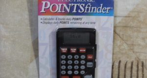 Weight Watchers Electronic Points Finder Calculator Weight Loss Diet 2002 – New