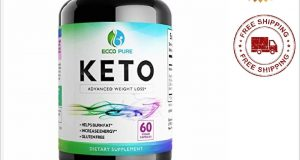 Keto Diet Pills ECCO Advanced Keto Fast Weight Loss Supplement Ketogenic Fat