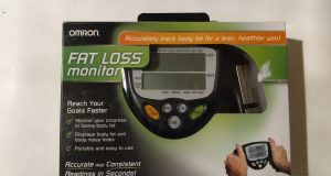 Omron Fat Loss Monitor / Body Fat Measure HBF-306C Used