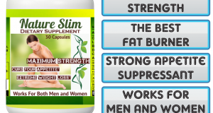 1 BOTTLE NATURE SLIM 30 CAPSULES. THE BEST WEIGHT LOSS+FAT BURNER. REALLY WORKS!