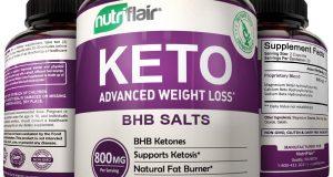 Keto Diet Advanced Weight Loss – All Natural Ketosis BHB Salts Fat Burner Metabo