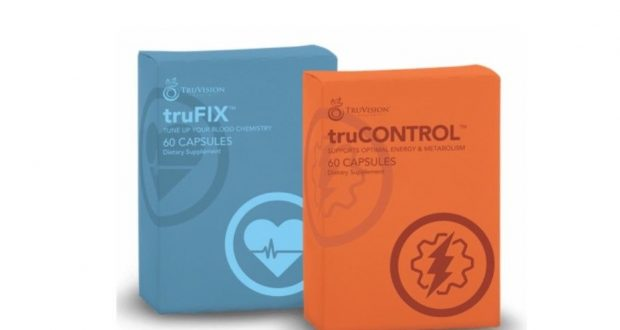 Truvision truCONTROL + truFIX 1 Month Weight Loss Supplements