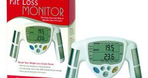 Omron Fat Loss Monitor HBF-306 Body Fat Analyzer White