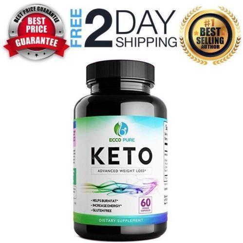 Keto Diet Pills Weight Loss Fat Burner Burn Fat Instead of Carbs 1 Months Supply