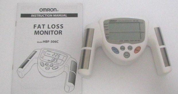 Omron Fat Loss Monitor HBF-306C Body Fat Tester Tested
