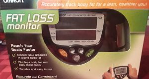 OMRON Fat Loss Monitor HBF-306C Body BMI Analyzer  Digital Display