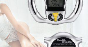 Body Fat Loss Monitor Handheld Digital Health BMI Analyzer Weight Meter Tester