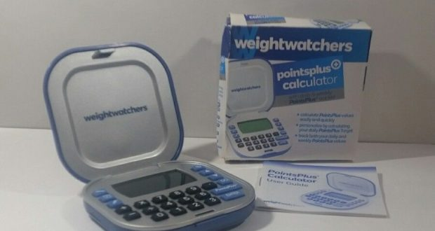 Weight Watchers Points Plus PointsPlus Weight Loss Calculator Tracker Blue