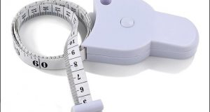 BMI Full Body Mass Index Retractable Tape Measuring Calculator Diet Weight Loss