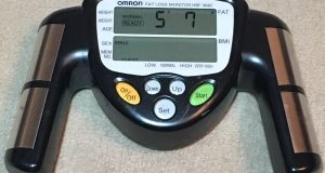Omron Fat Loss Monitor HBF 306C Excellent used condition