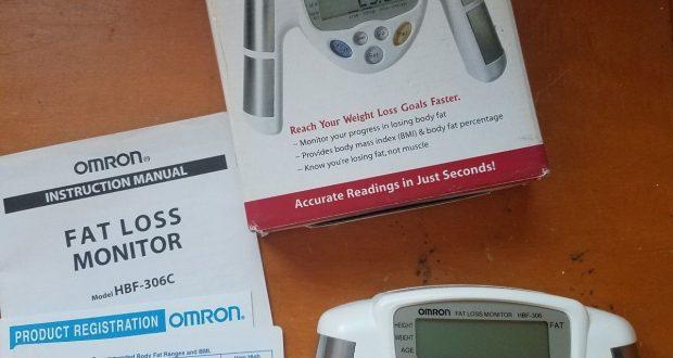 Digital Monitor Fat Loss Weight Analyzer Tester Meter Bmi Body Fat Mass Omron (B