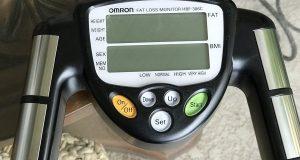 Omron!  Fat Loss Analyzer Monitor HBF-306CN Body Logic