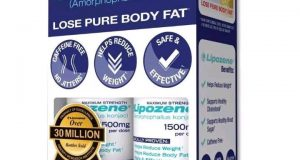 Lipozene – Weight Loss Aid, Max Strength – 60ct, Two 30ct Bottles – 12/2020
